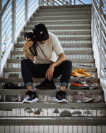 sneaker head